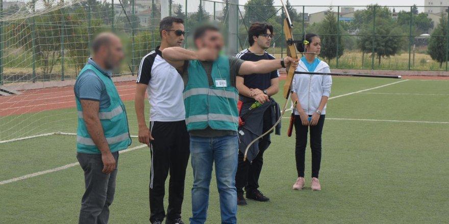 Yükümlüler arası okçuluk turnuvası düzenlendi
