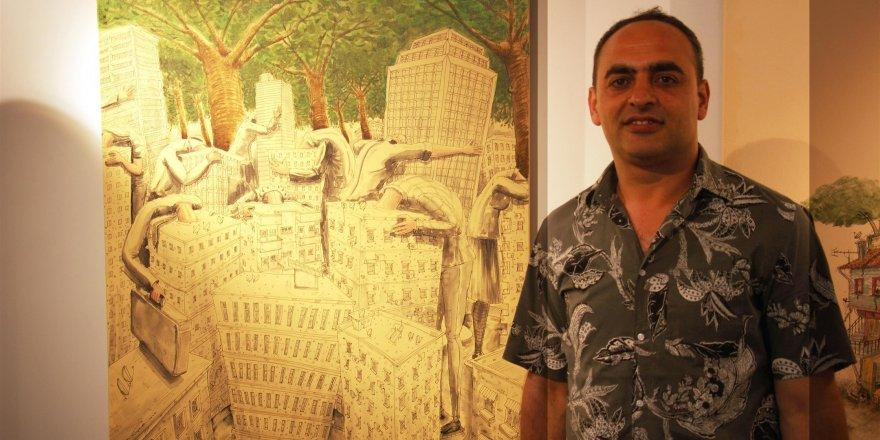 Ressam Hakan Çapkan: ''Pozitif bir beton anlayışı olmalıdır.''