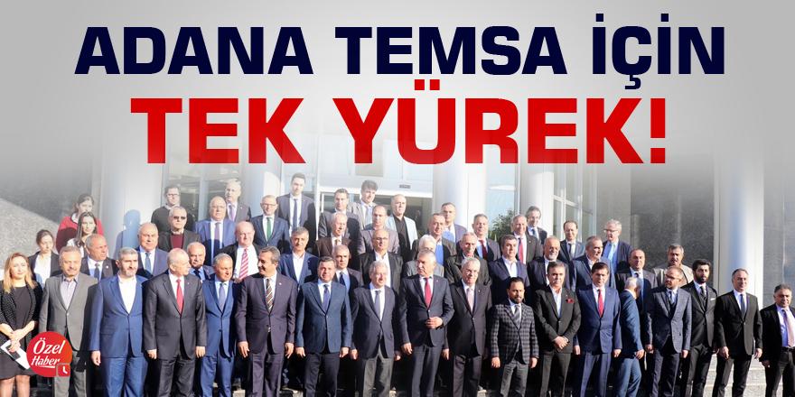 Adana Temsa için 'tek yürek'