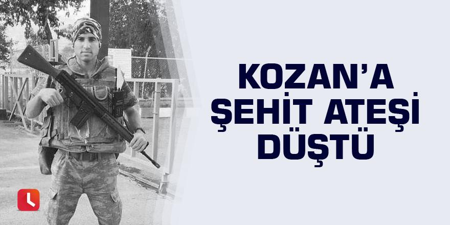 Kozan'a şehit ateşi düştü