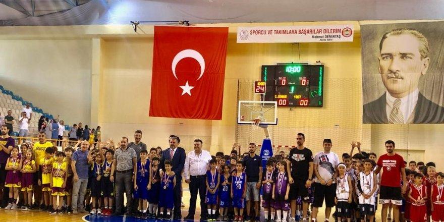 U-10 Basketbol Şampiyonası sona erdi
