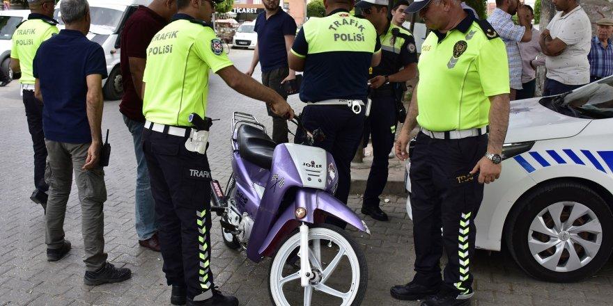 40 sürücüye 24 bin lira ceza