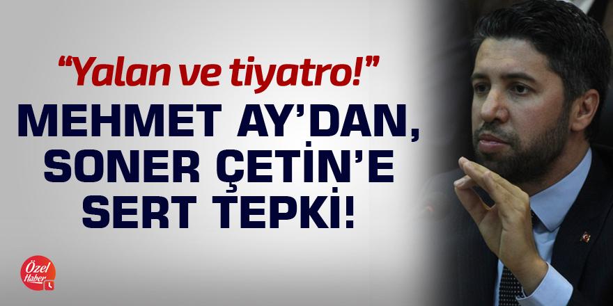 Mehmet Ay'dan Tapu töreni eleştirisi!