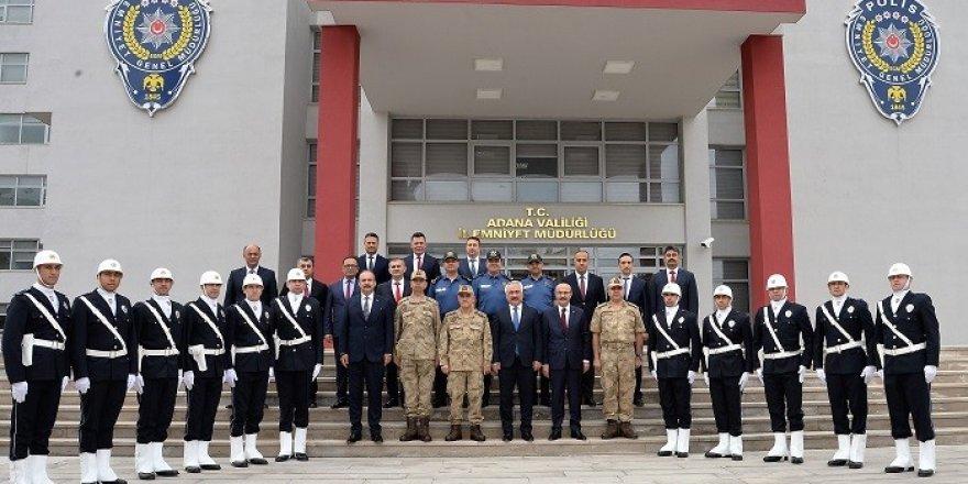 Bakan Yardımcısı Ersoy ve Orgeneral Çetin Adana'da