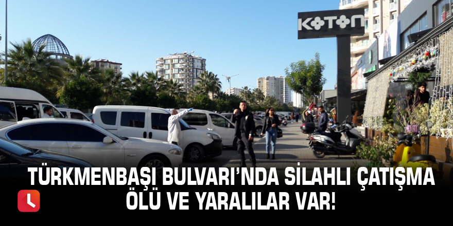 Türkmenbaşı'nda silahlı çatışma!