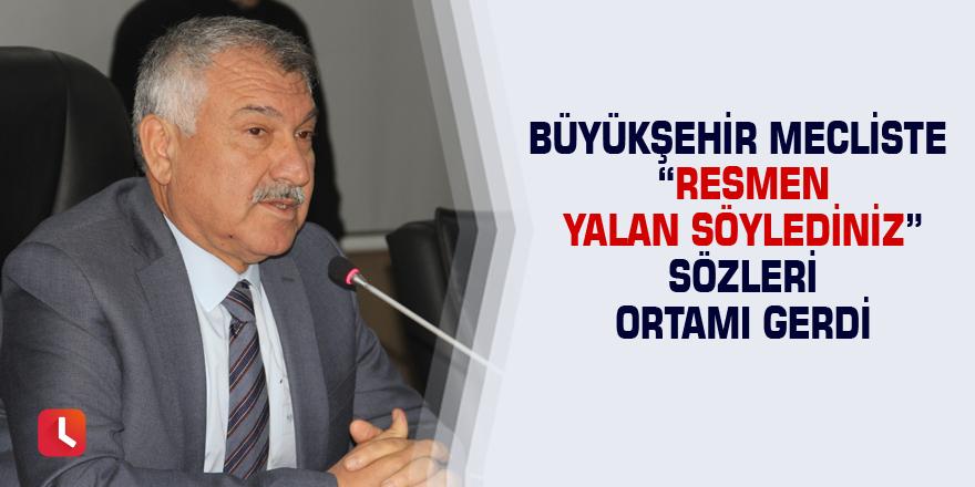 Adana Büyükşehir Belediye Meclisinde gergin anlar