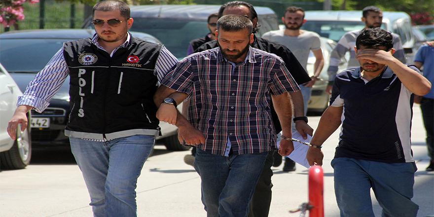 5 gram erion ile yakalanan iki kişi tutuklandı