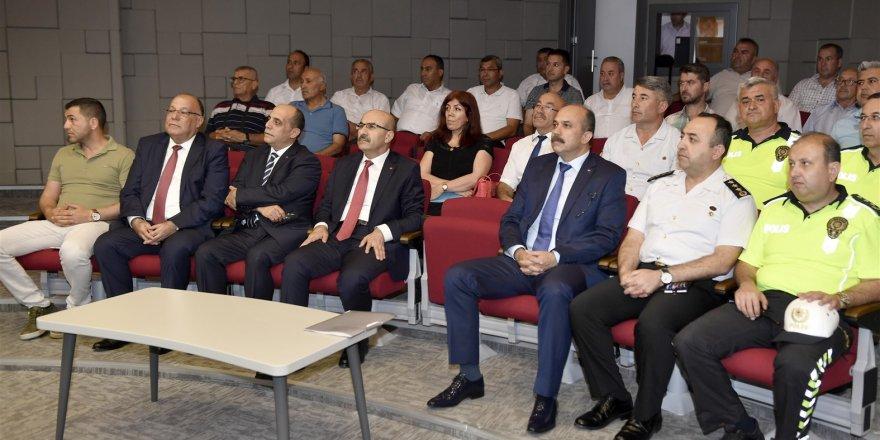 Vali Demirtaş: Trafik ihmale gelmez
