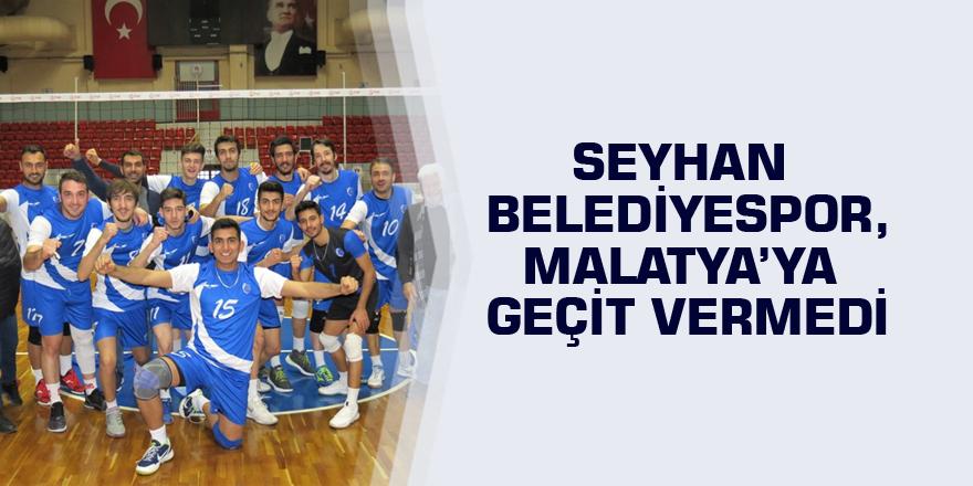 Seyhan Belediyespor, Malatya'ya geçit vermedi