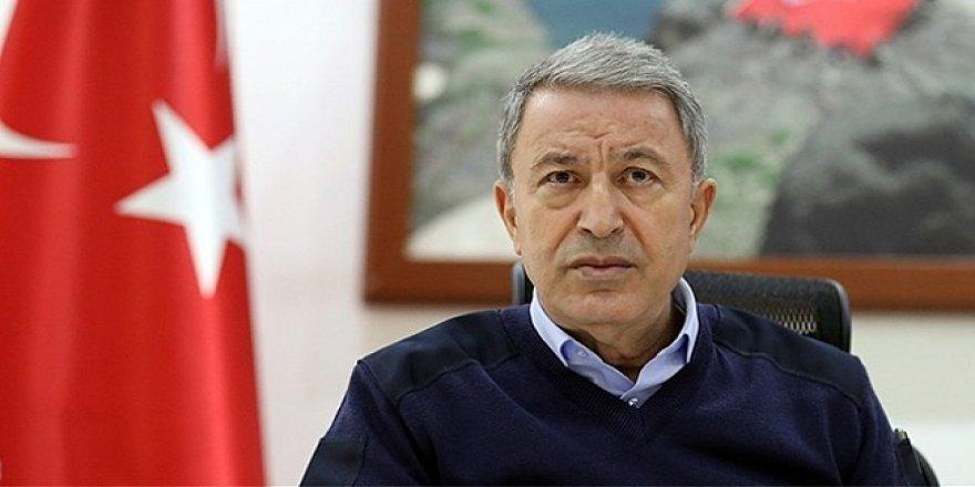 Bakan Hulusi Akar ve komutanlar Adana'da