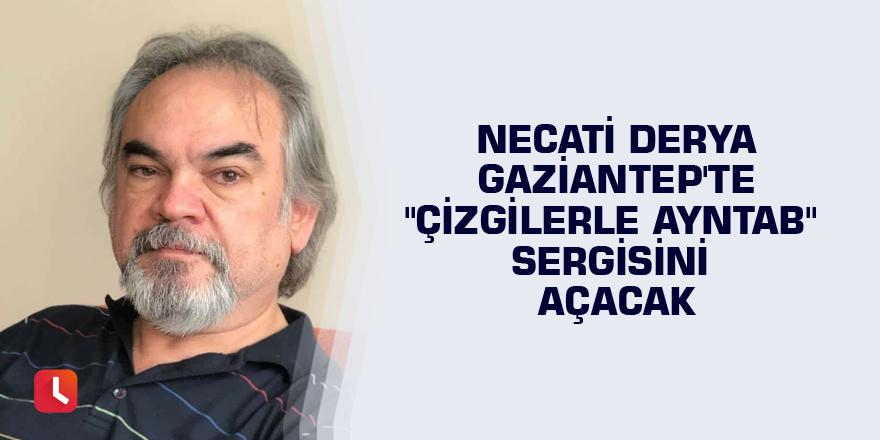 """Necati Derya Gaziantep'te """"Çizgilerle Ayntab"""" sergisini açacak"""