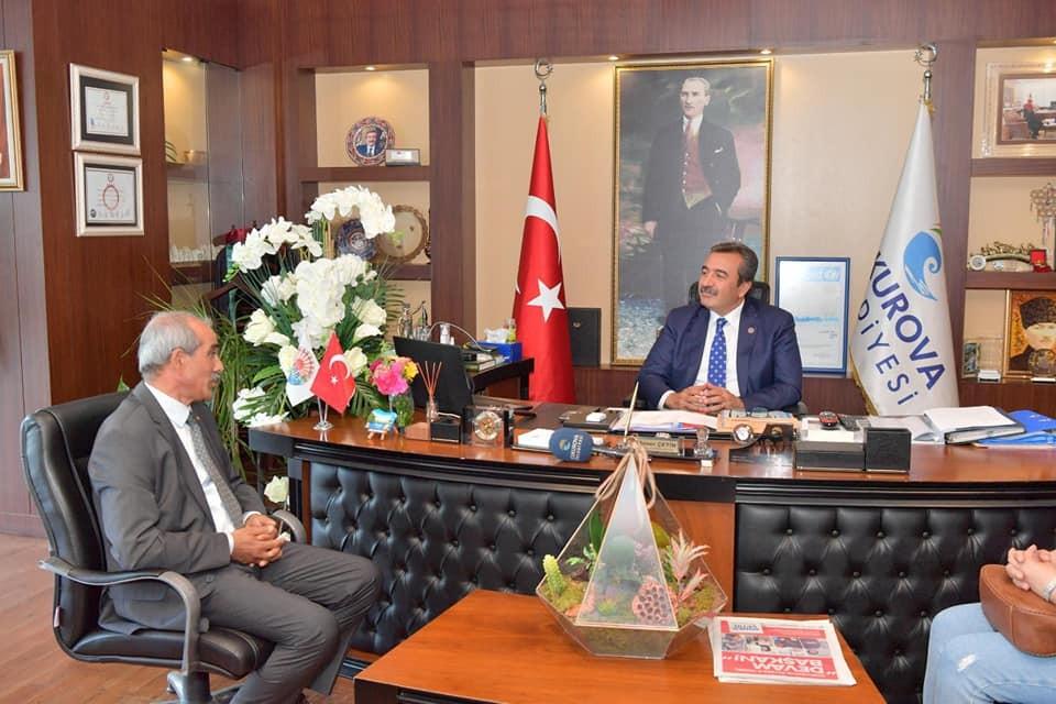 """- Başkan Çetin: """"Başarıyı örgütümüzle yakaladık"""""""