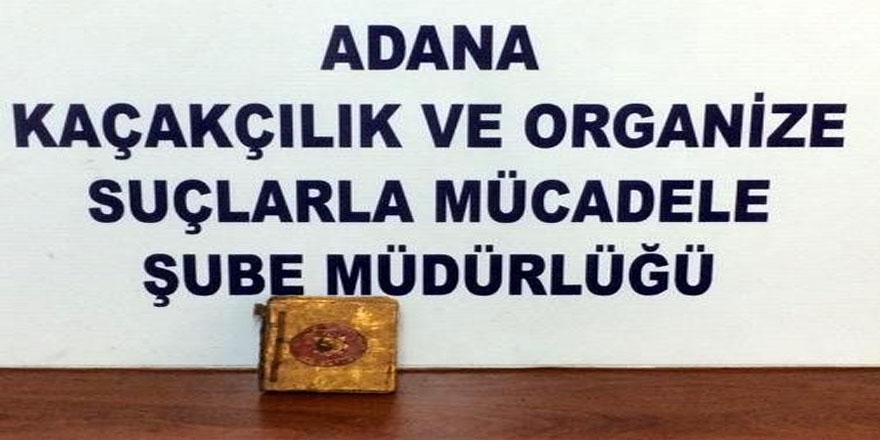 Adana'da tarihi eser kaçakçılığı operasyonu