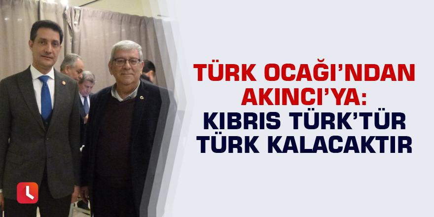 Türk Ocağı'ndan Akıncı'ya: Kıbrıs Türk'tür Türk kalacaktır