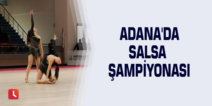 Adana'da Salsa Şampiyonası