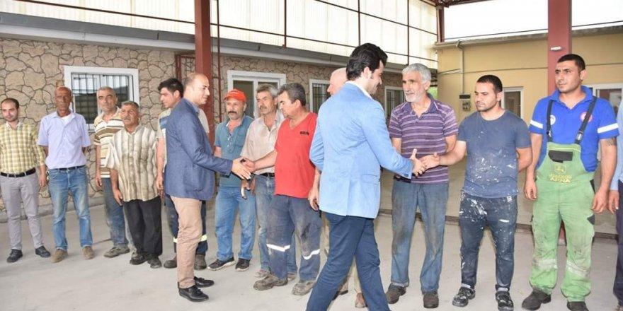 Ceyhan Belediyesi, personelleri ile bayramlaştı