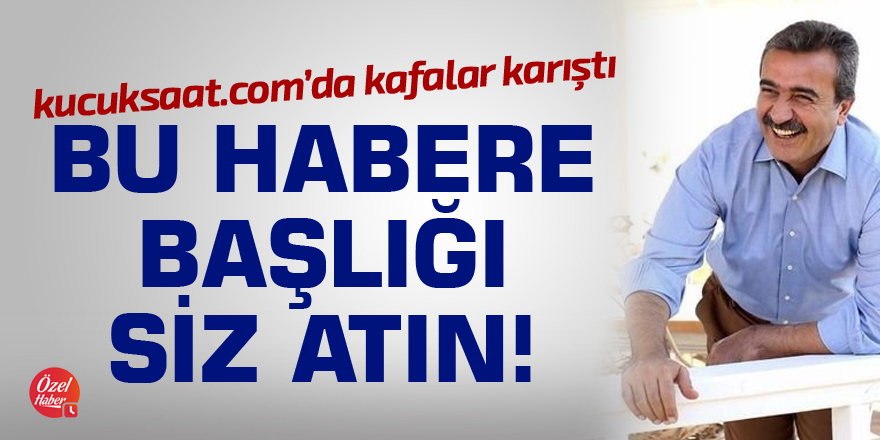 Soner Çetin'den AK Parti Çukurova'ya Methiyeler!