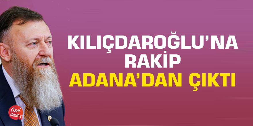 Kılıçdaroğlu'na rakip Adana'dan çıktı