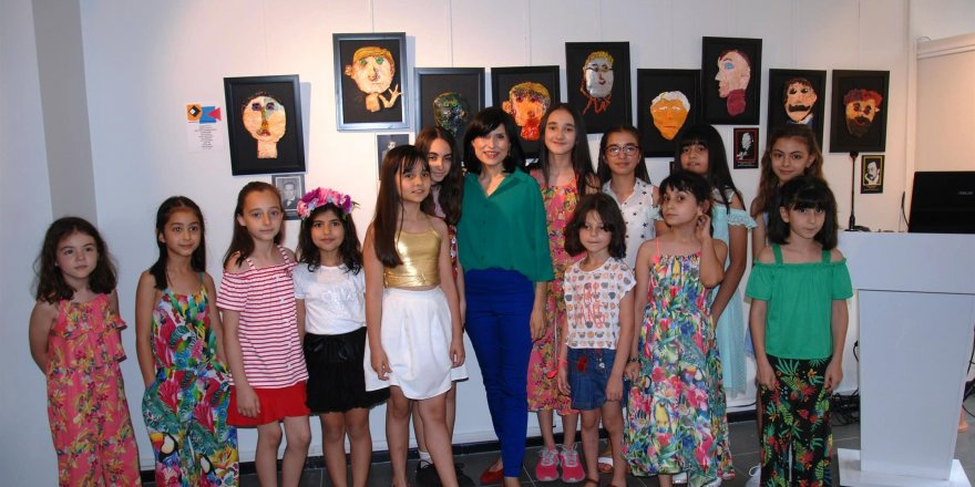 ''Çocukların Yorumuyla Bauhaus'' sergisi açıldı