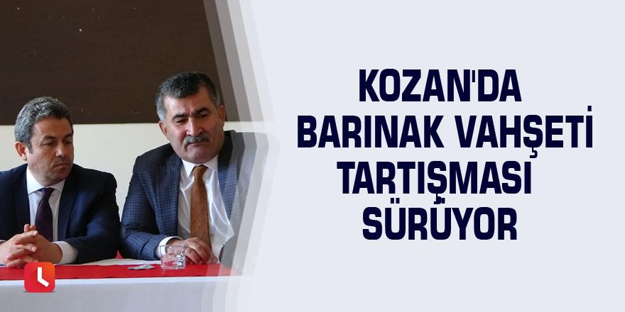 Kozan'da barınak vahşeti tartışması sürüyor