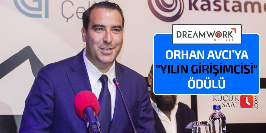 """Orhan Avcı'ya """"Yılın Girişimcisi"""" ödülü"""