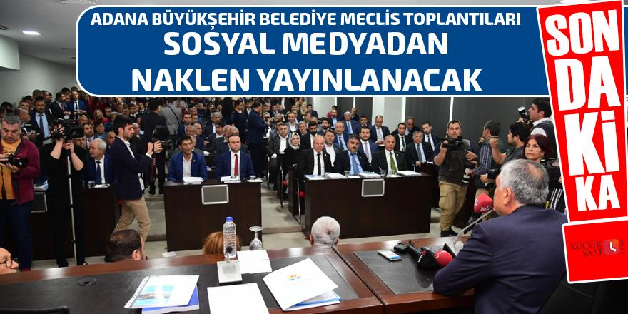 Büyükşehir meclisi canlı yayınlanacak