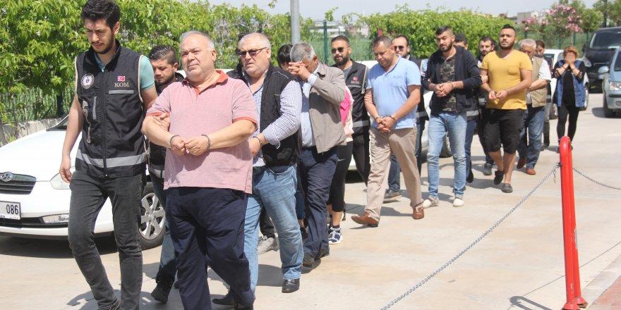 Aile boyu tefecilik iddiasına 4 tutuklama