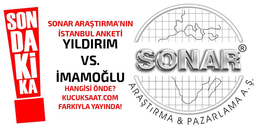 SONAR'ın anketinde İstanbul'u kim kazanıyor?