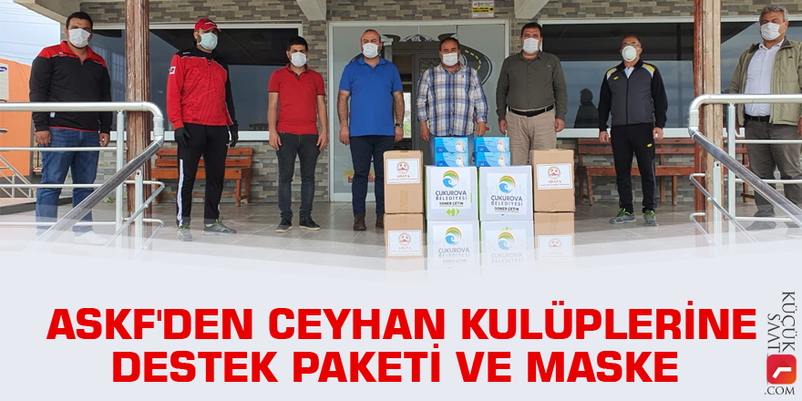 ASKF'den Ceyhan kulüplerine destek paketi