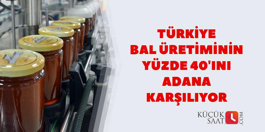 Türkiye bal üretiminin yüzde 40'ını Adana karşılıyor