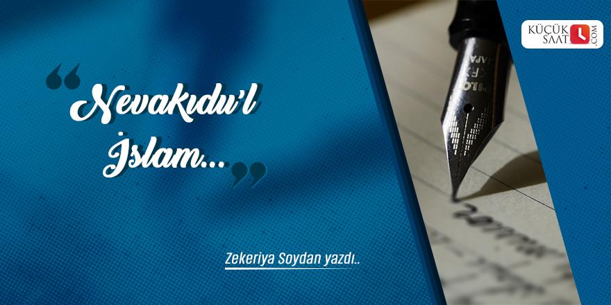 Zekeriya Soydan: Nevâkıdu'l-İslâm!