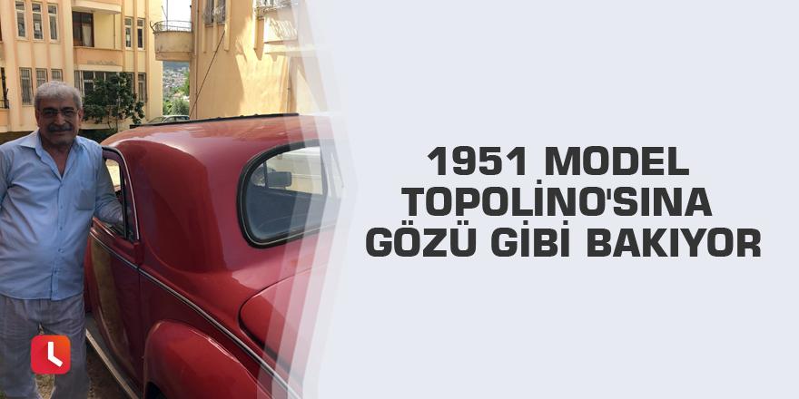 1951 Model Topolino'sına gözü gibi bakıyor