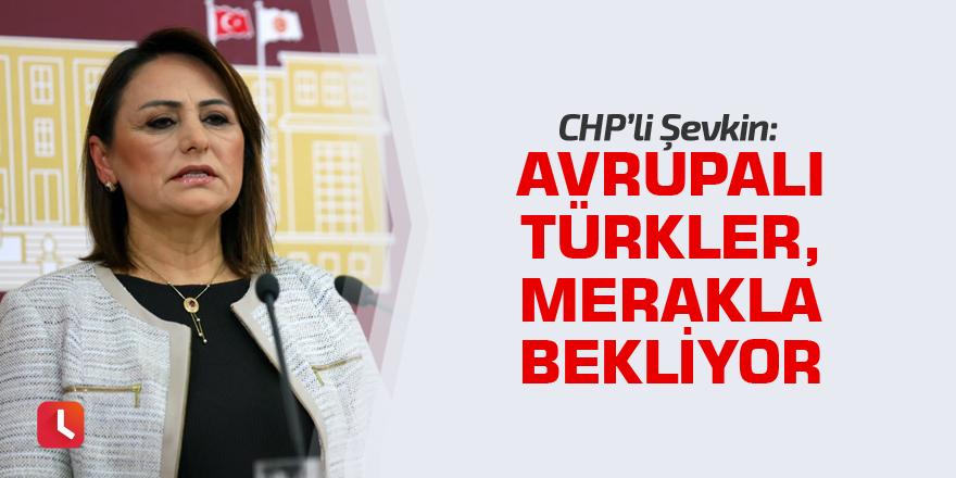 """""""Avrupalı Türkler, merakla bekliyor"""""""