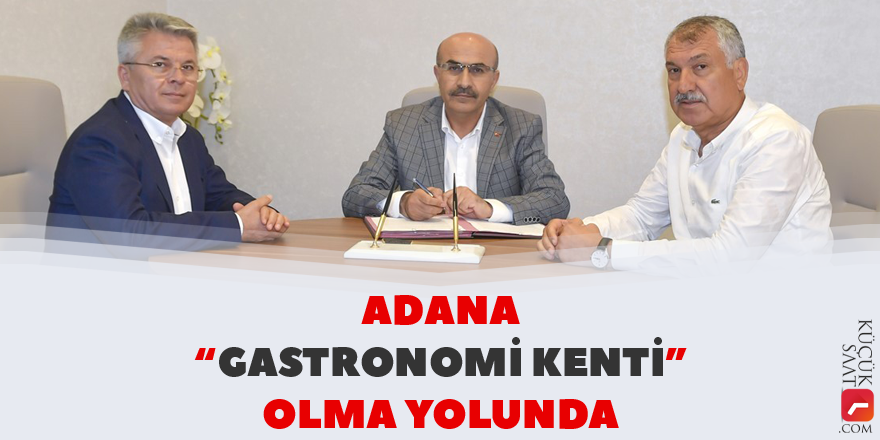 "Adana ""gastronomi kenti"" olma yolunda"