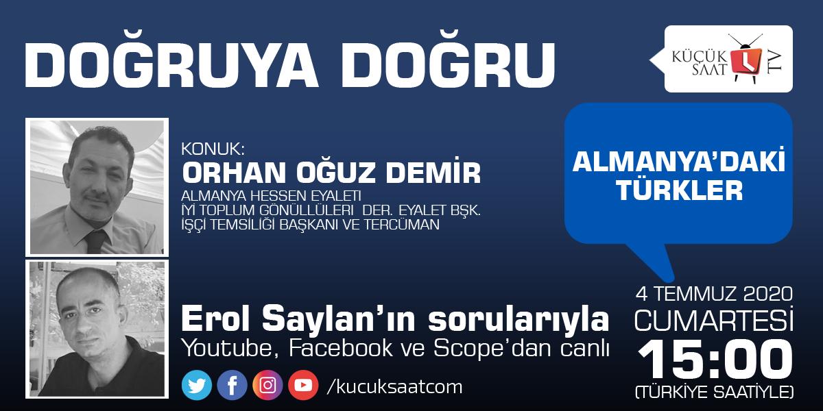 Başkan Demir, Almanya'da yaşayan Türkleri anlatacak
