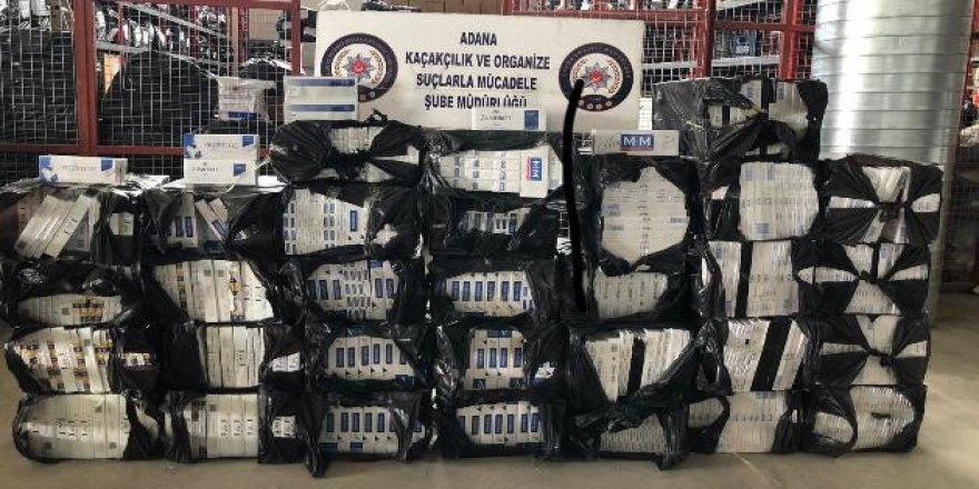 Adana'da sigara kaçakçısı tutuklandı