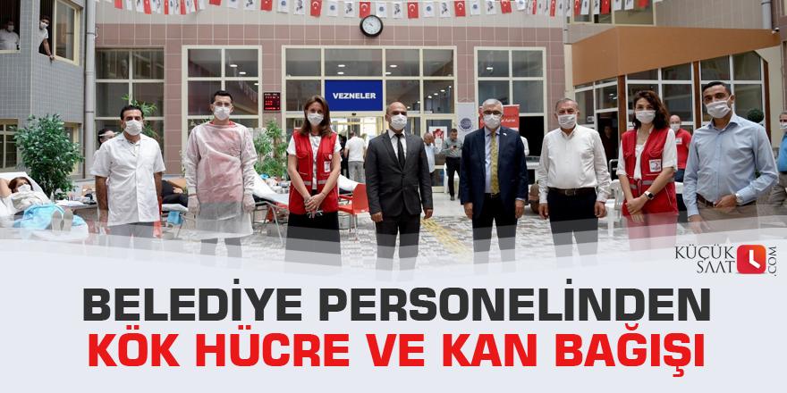 Belediye personelinden kök hücre ve kan bağışı