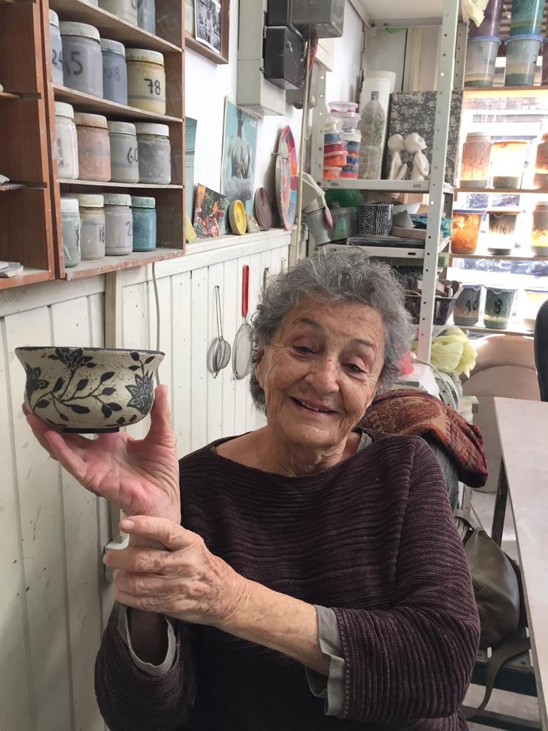 Salamon Gilodo'nun İsrail'de yaşayan kızı Tamara Gilodo