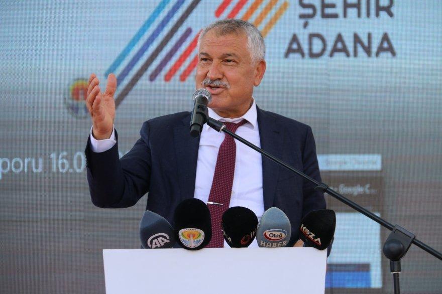 Mansur Yavaş, Adana Büyükşehir'in kreş temel atma törenine katıldı